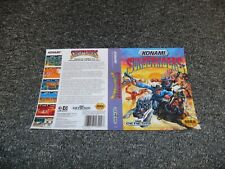 NEW REPLACEMENT SEGA MEGADRIVE GAME BOX ARTWORK - Cover Only - SUNSET RIDERS