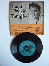 "Elvis Presley Good Rockin' Tonight 1957 UK HMV EP 7"" Vinyl Single 7EG8256"