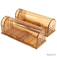 Humane Mouse Trap | No Kill Rodent Catch Cage | Pet & Child Safe | M&W