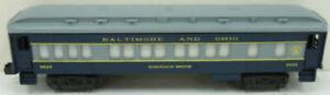"""Lionel 6-9525 Baltimore & Ohio """"Emerald Brook"""" Passenger Car EX"""
