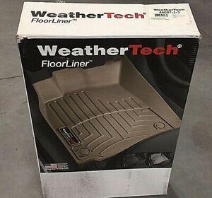 WeatherTech 44607-1-3 FloorLiner for Suburban Yukon XL w Bucket Seats 15-19 Blk