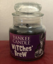 Yankee Candle Witches Brew Halloween Holiday 3.7 Oz Boney Bunch Brand New
