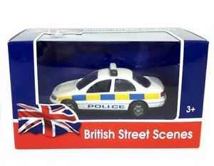 """VAUXHALL OMEGA POLICE CAR - 4.5"""" Scale Die-Cast Model by Richmond Toys - New"""