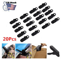 20X Camping Awning Canopy Clamp Tarp Clip Car Boat Cover Emergency Tent Snap