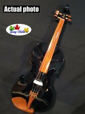 "Black varnish colors  16"" electric  acoustic viola,Wonderful Sound  #8587"