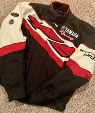 Yamaha Deltabox II Exup Factory Racing Motorcycle Jacket Mens Sz XL Rare Vintage