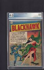 Blackhawk #32 - Aug , 1950 - PGX  4.0 -  NOT CGC
