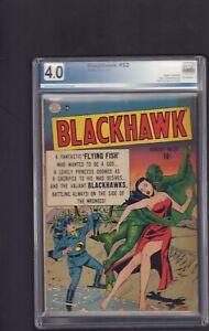 Blackhawk #32 - Aug , 1950 -   4.0 -Graded