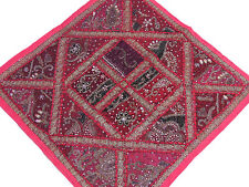 Magenta Decorative Euro Sham Lounge Scatter Pillow Cover Fancy Floor Cushion