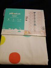 "PILLOWFORT Multi color Dot Blackout Curtain Panel  84"" long NWT target"