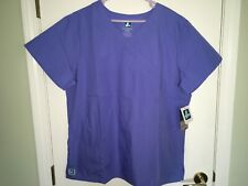 New with tags Woman's Adar Scrub Top Size 3Xl Blue