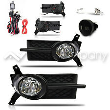 07-11 Aveo 4Dr / 07-08 Pontiac G3 Fog Lights w/Wiring Kit - Black Cover