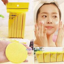 12pcs Compressed Facial Cleaning Wash Puff Sponge Stick Face Cleansing Pad N7