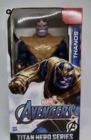 Titan Hero Series Blast Gear Deluxe Thanos Action Figure, 12-Inch Toy