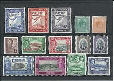 Collect King George VI Stamps. Lot No.101. 14 Mint Hinged Stamps. As Per Scan