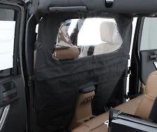 Jeep Wrangler JK Wind Breaker 2007-2017 4 Door Black Diamond Smittybilt 90335