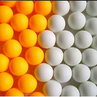 10/50X Assorted Color Plastic Table Tennis Colorful Ping Pong Balls  FJ