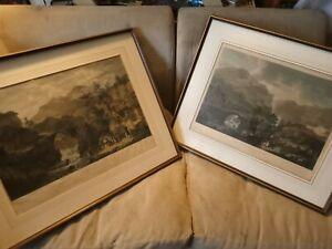 Two large Peninsular War prints by Henri Leveque