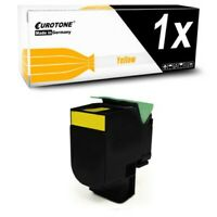 Toner Yellow for Lexmark C-546-DTN X-544-DW X-548-DTE C-540-N X-544-DN X-548