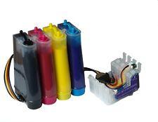 Cartouches CISS Non-OEM pour Epson  WF-3520DWF + 400ml d'encre Pigmentée