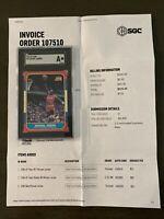 1986 Michael Jordan Fleer #57 Rookie, SGC A, Rare!