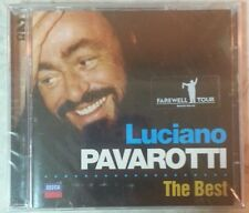 "THE BEST by LUCIANO PAVAROTTI [Farewell Tour] (2 CDs, 2005 - DECCA) ""BRAND NEW"""