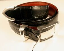 J.W. Cooper Alligator and Sterling Belt in Black bf6d795fb83