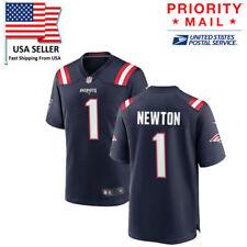 Cam Newton #1 Navi New England Patriots Jersey