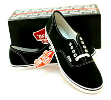 VANS Size 10 Black / True White Authentic Pro Unisex Sneakers RETAIL $55