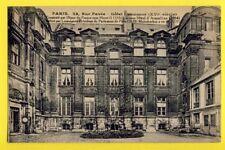 cpa 75 PARIS 24 rue Pavée MAISON SALLERON installée dans l'HÔTEL LAMOIGNON 1856
