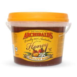 Australian pure honey, Yellow Box, 1kilo tub, Archibalds, free shipping