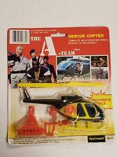 Vintage A-Team Rescue Copter 1983 Fleetwood 203-31 NIP Rare