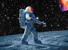 A3 Rapper Art Poster Kid Cudi Man on the Moon  Print