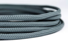 5 meters Shakmods Round 4 mm High Density Dark Grey Braided Expandable Sleeving