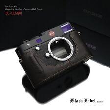 GARIZ Black Label leather case Leica M BL-LCMBR Brown