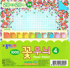 20 Sheets Flower Patterned Paper-4