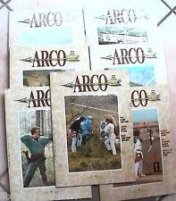 LOTTO DI 7 RIVISTE ARCO  5- 9-10 11/12 1990 1- 2- 4 1991 Sport Tiro al bersaglio