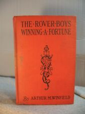 lot 3 The ROVER BOYS Winning  A Fortune Hardy boys vintage old children's books