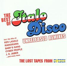 Best Of Italo Disco - Unreleased Remixes - 2CDs - NEU