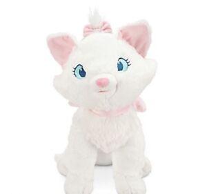 "Disney Store Marie Large Plush Toy Aristocats 19"" New"