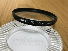 Nikkor NC 52mm Filter