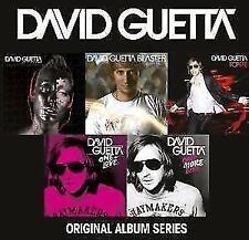 David Guetta-original album series -- 5 CD NEUF & OVP