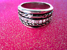 Rope Ring Size 7