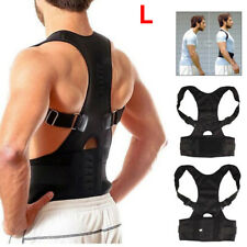 Shoulder Harness With Back Support Magnetic Posture Corrector For Adults Belt XN