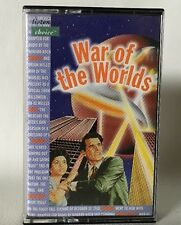 ORSON WELLES - WAR OF THE WORLDS Listener's Choice Tape Cassette Rare