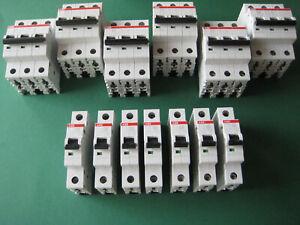 ABB FI Leitungs Schutzschalter Sicherungsautomat B C 10 16 20 25 32 40 A 1 3 pol