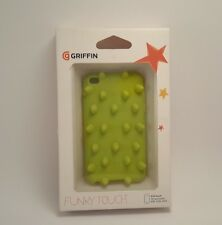 Griffin IPod Touch 4th Generation Funky Touch Neon Green Bumps Fitted Case NIB