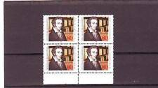 GERMANY/WEST - SG2248 MNH 1988 LEOPOLD GMELIN - BLOCK OF 4