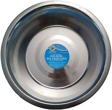 Stainless Steel Large Pet Dog Cat Food Water Bowl Dish 52.4 oz
