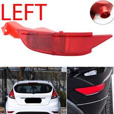 LHD Rear Side Left Bumper Reflector N/S Fog Light Len For Ford Fiesta MK7 08-12